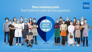 Avec Shop Small, American Express encourage ses clients à consommer local